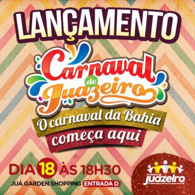 2c05392590 Além de anunciar quem serão as atrações do Carnajuá 2019 e quais as  novidades da grande festa